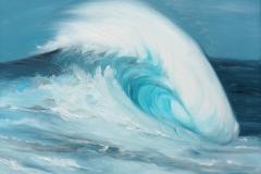 Big Wave | Öl auf Leinwand | 50 x 70 cm