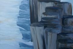 Domburg | Acryl auf Leinwand | 80 x 40 cm