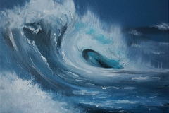 Wave | Öl auf Leinwand | 24 x 30 cm