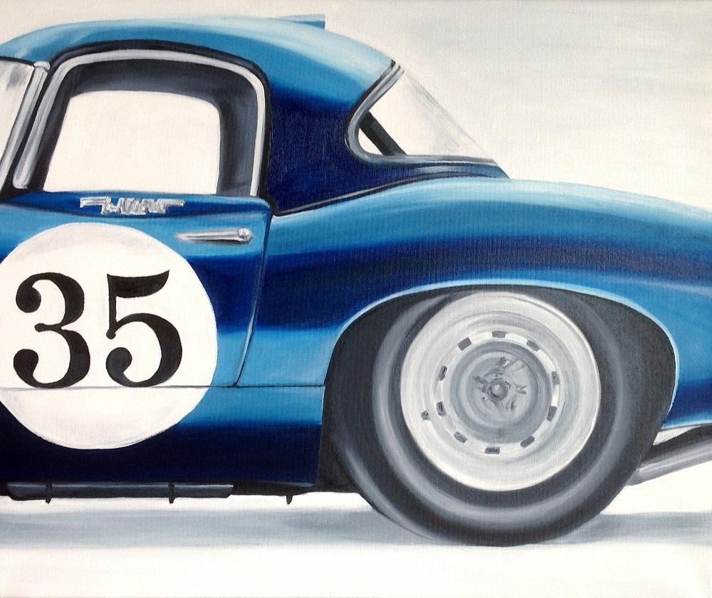 Jaguar | Öl auf Leinwand | 50 x 60 cm