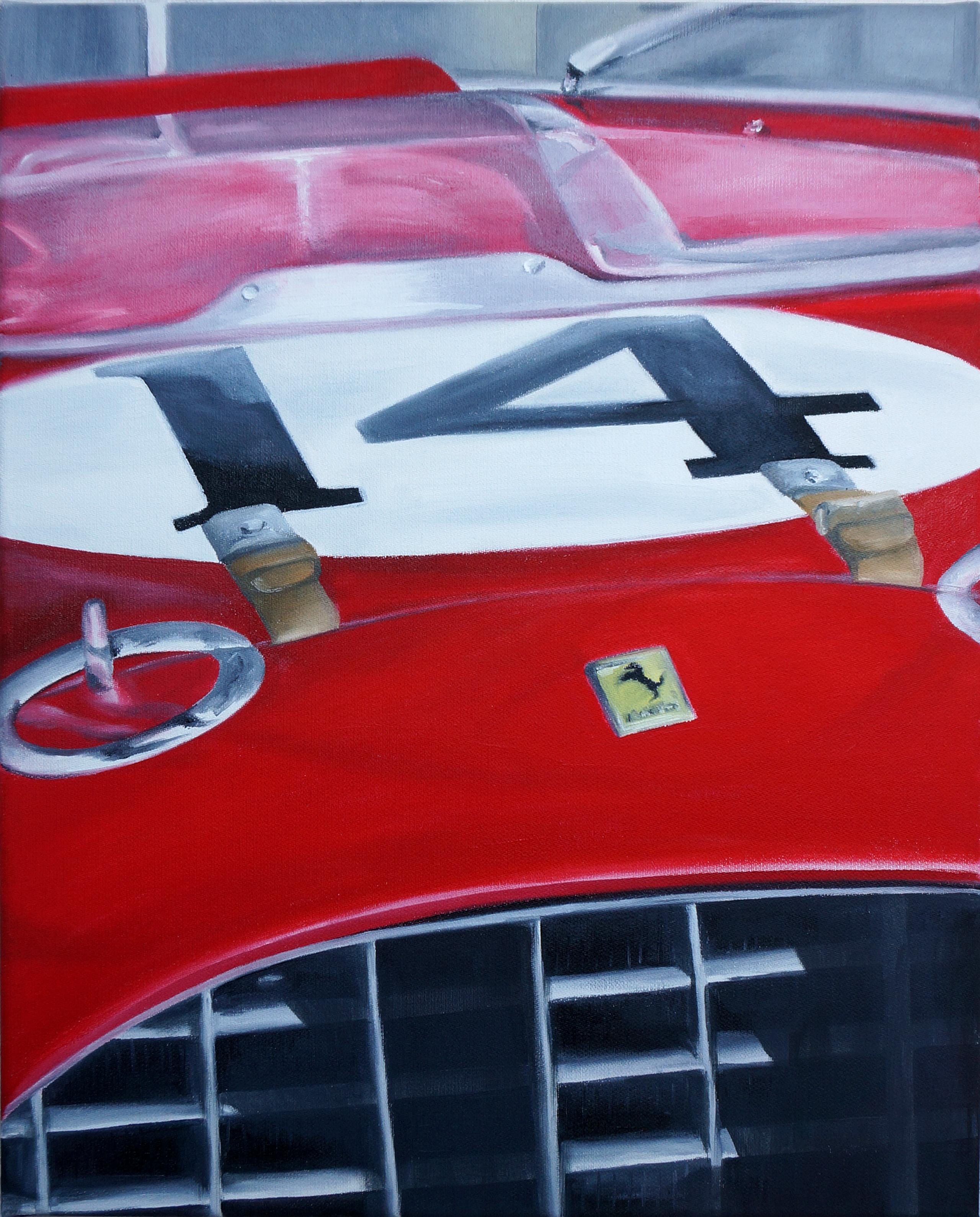 Ferrari No. 14 | Öl auf Leinwand | 50 x 40 cm