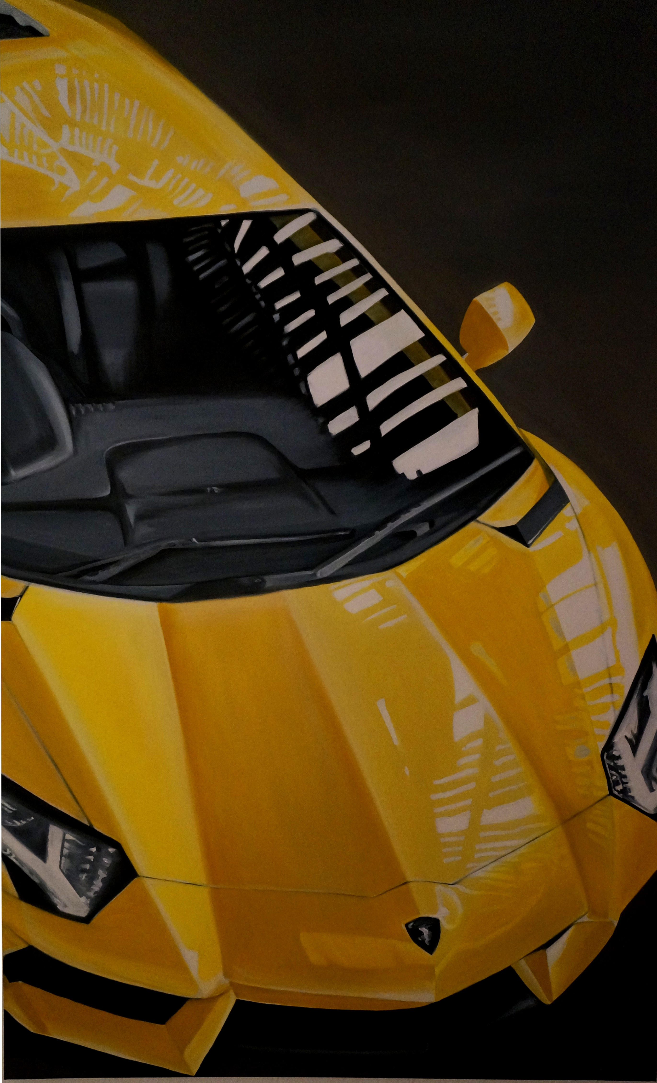 Lamborghini | Öl auf Leinwand | 130 x 80 cm