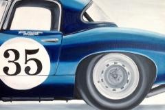 Jaguar   Öl auf Leinwand   50 x 60 cm