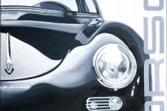 Porsche 1   Öl auf Leinwand   60 x 50 cm