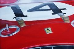 Ferrari No. 14   Öl auf Leinwand   50 x 40 cm