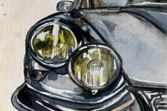 Citroen   Aquarell   16 x 23 cm