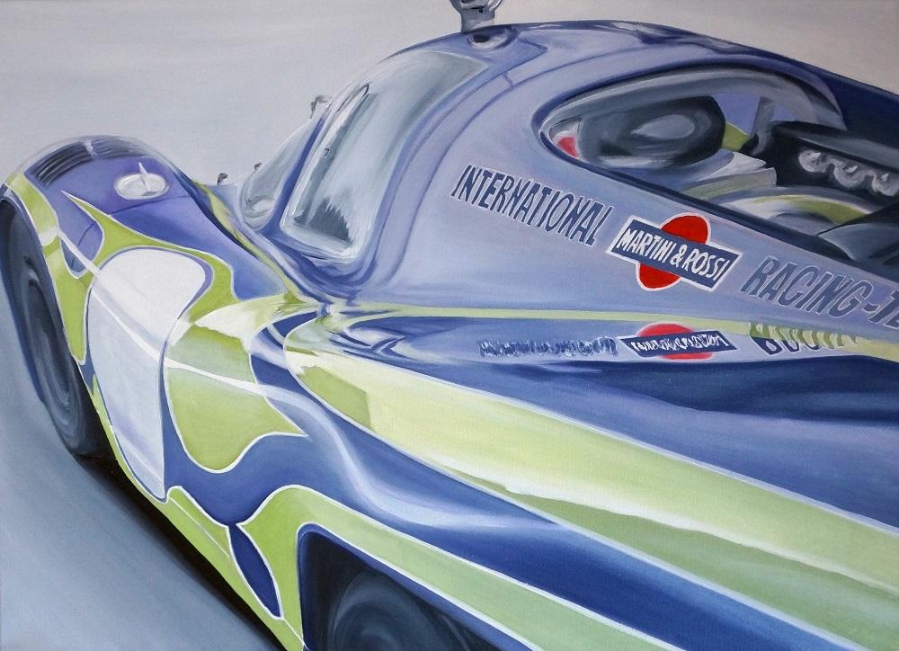 Porsche 917 | Öl auf Leinwand | 50 x 70 cm